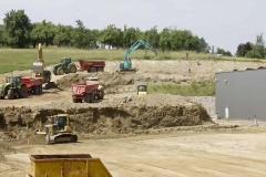 Projekt Bodan Baustelle Böschung