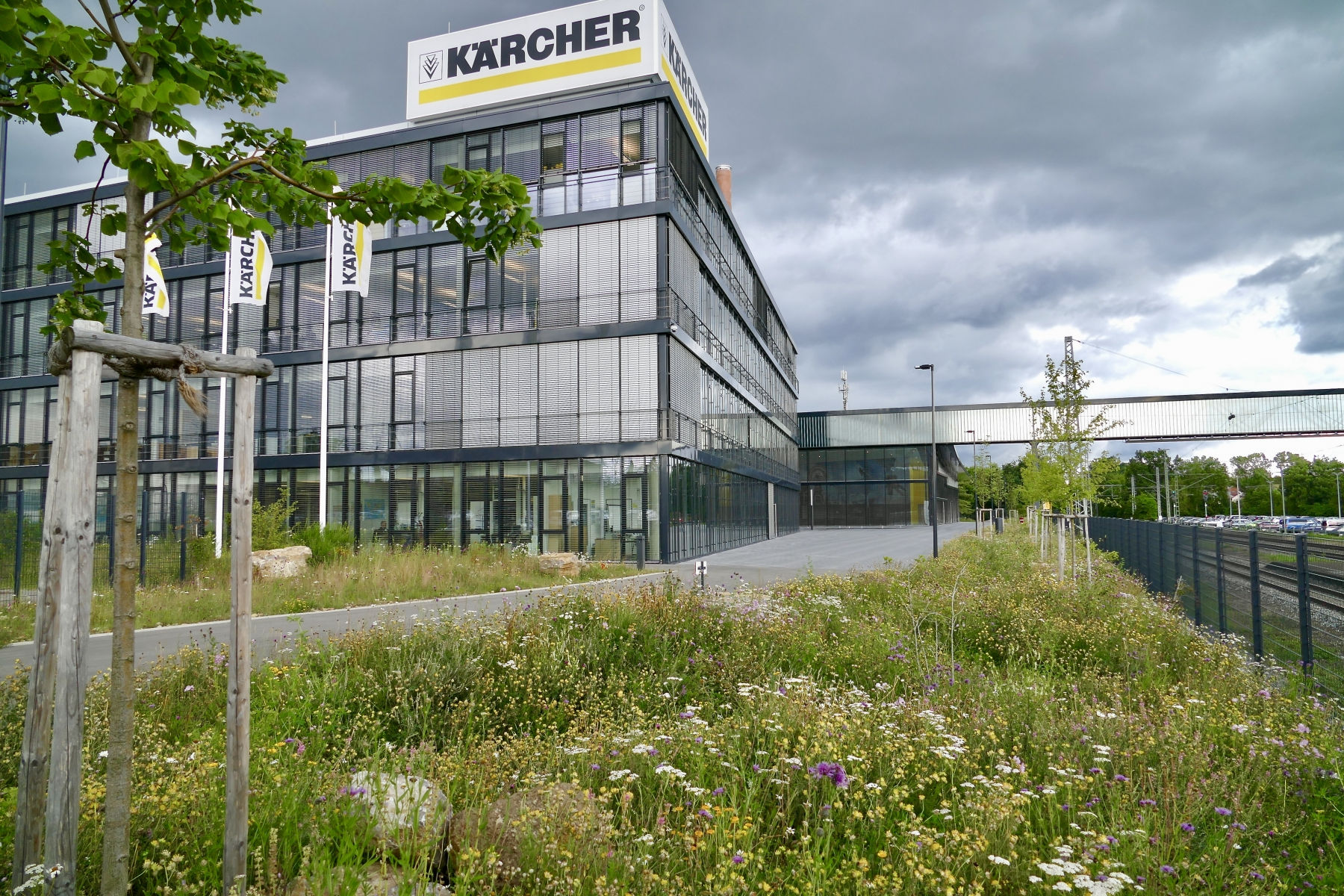 FG Projekt Kärcher, Verwaltungsgebä#ude,  Sommer 2016